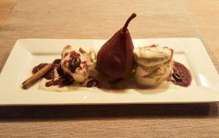 Dessert of Stewing Pear