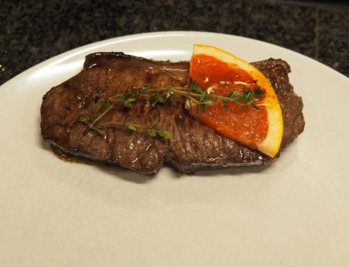 Marinated sirloin