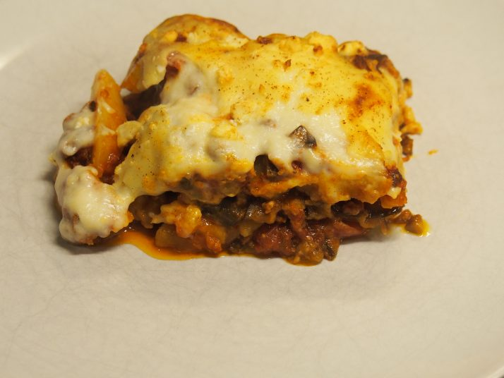 Vegetarian Greek Moussaka Tempting Flavours