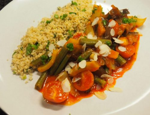Vegetable stew with couscous